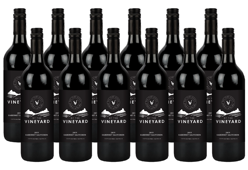 By The Vineyard Cabernet Sauvignon 2019 (12x 750mL). SEA.