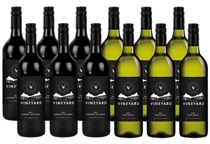 By The Vineyard Mixed Pack Cabernet Sauv