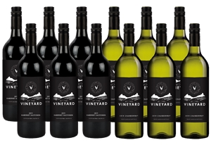 By The Vineyard Mixed Pack Cab Sauv & Ch