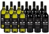 By The Vineyard Mixed Pack Pinot Grigio & Shiraz (12x 750mL). SEA.