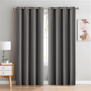 2x Blockout Curtains Panels 3 Layers Eye