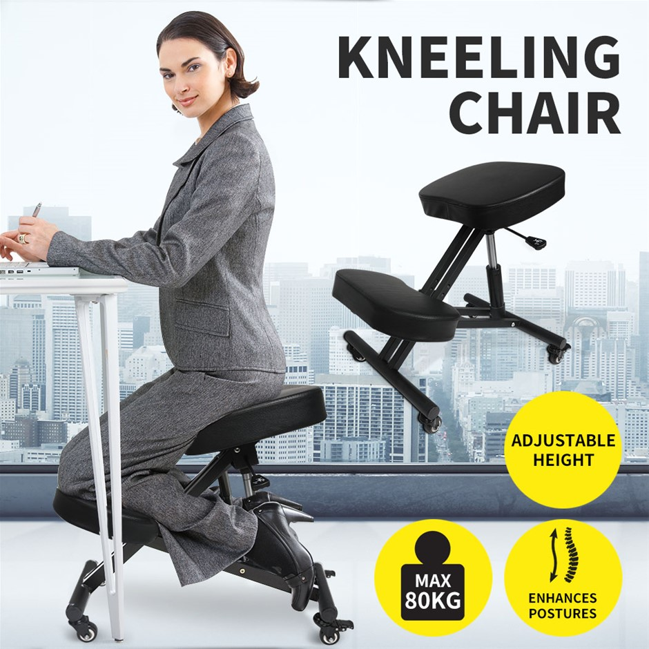 Ergonomic Kneeling Chair Adjustable Computer Chair Home Office Work