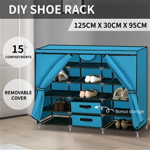 Shoe Rack DIY Portable Storage Cabinet O