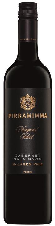 Pirramimma Vineyard Select Cabernet Sauvignon 2015 (6 x 750mL) McLaren Vale