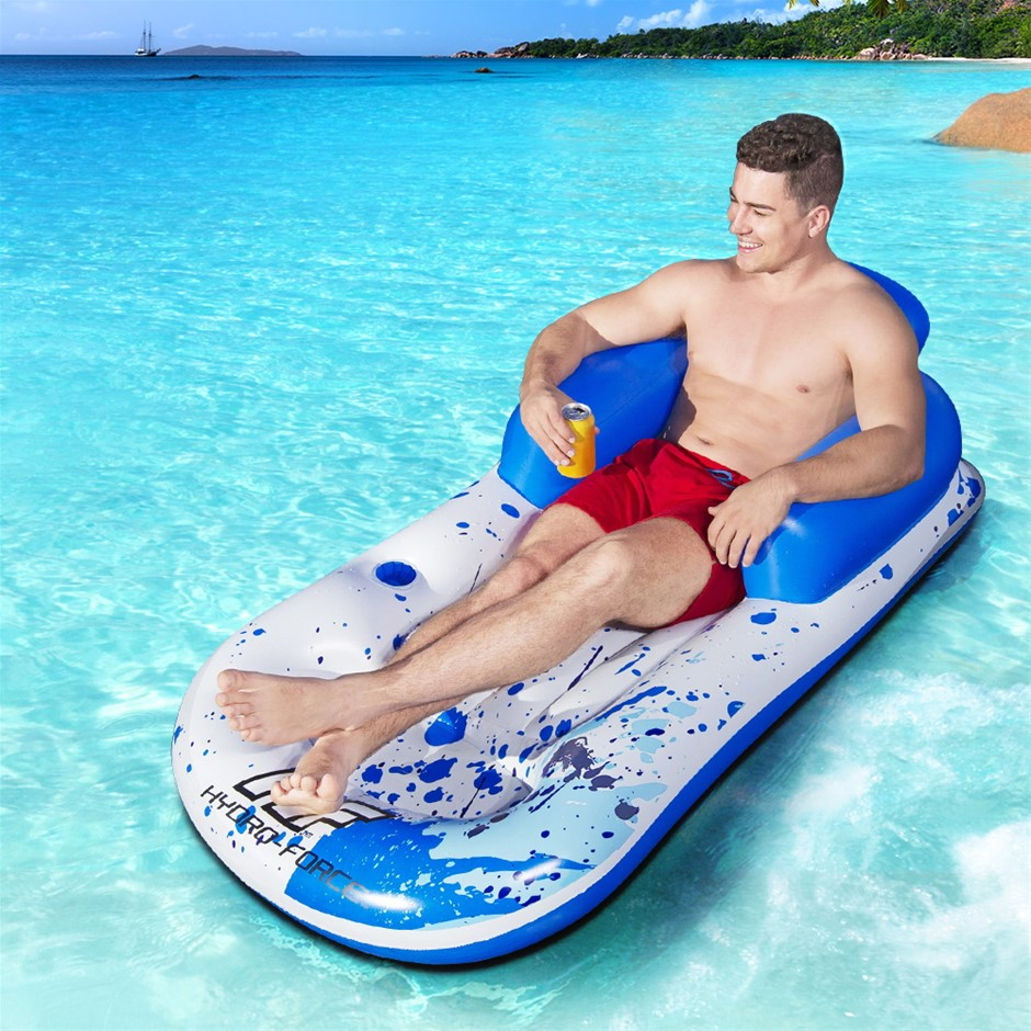 Bestway Inflatable Floating Float Floats Pool Lounge Chair Bed Swimming