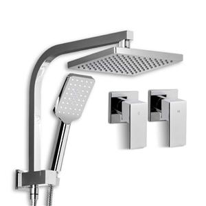 "Cefito WELS Square 8"" Bathroom Rain Show"