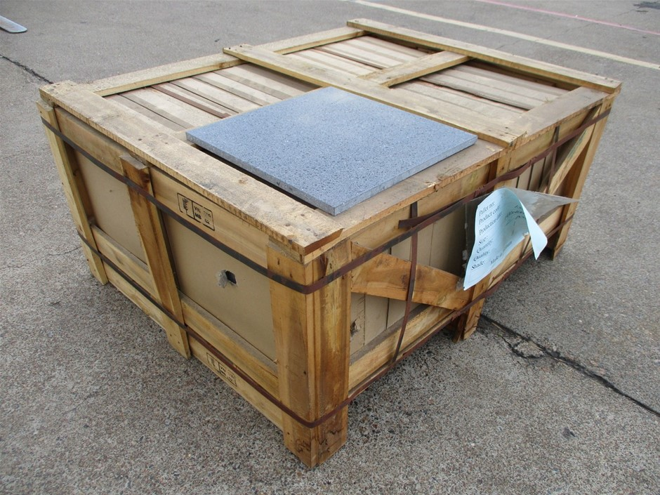 Pallet of 19.2m² Stone Floor Tiles