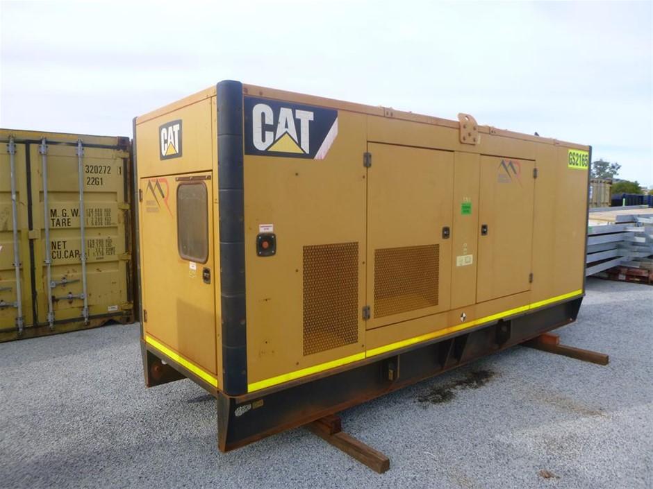 2013 Caterpillar 550 KVA Silenced Enclosed Generator