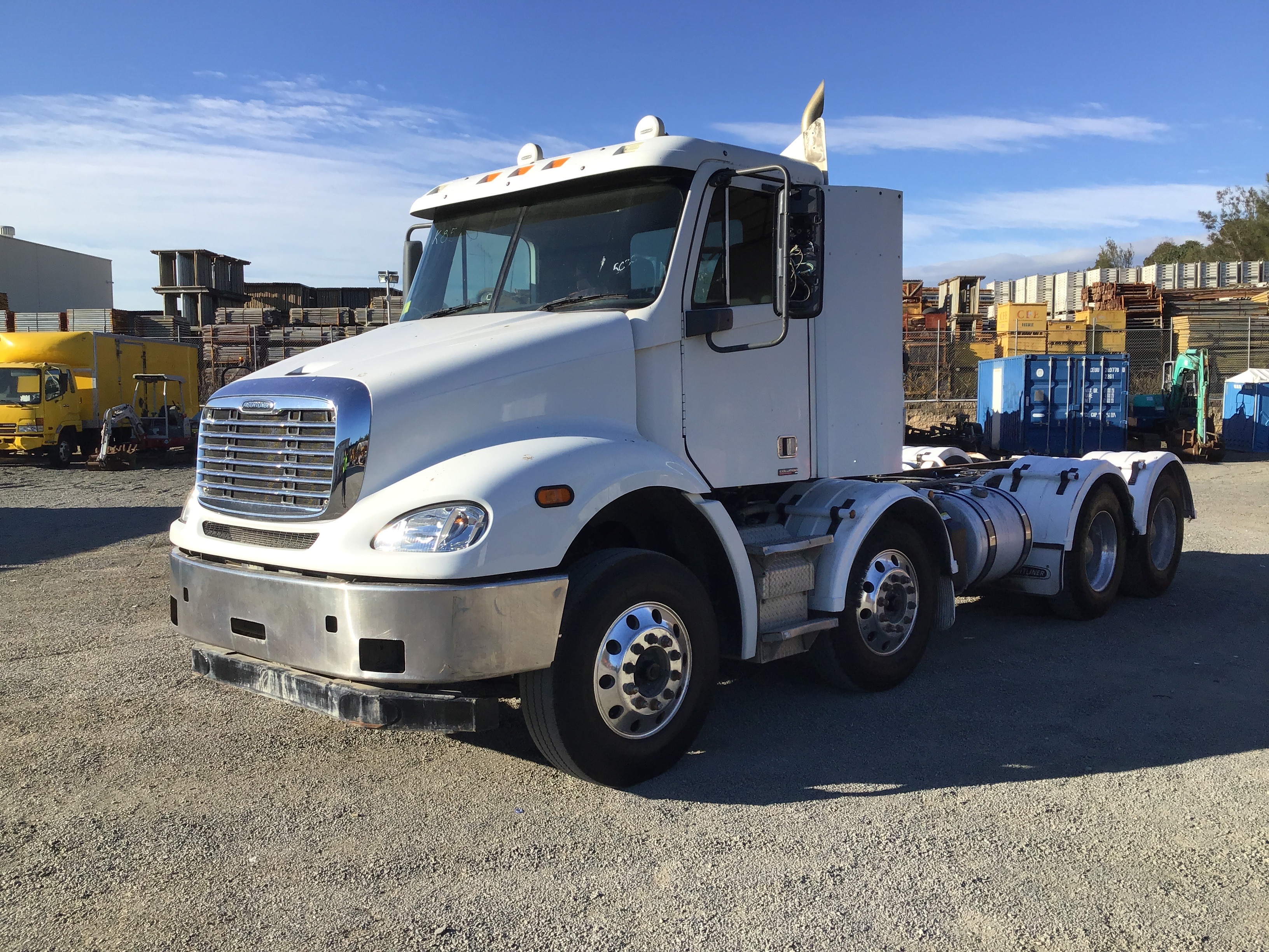 2014 Freightliner CL112 8 x 4 Cab Chassis Truck