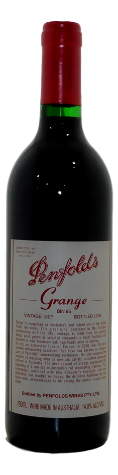Penfolds Bin 95 Grange 1997 (1x 750mL), SA