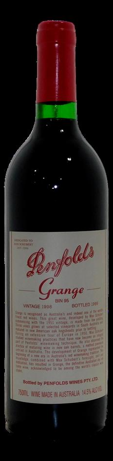 Penfolds Bin 95 Grange 1998 (1x 750mL), SA