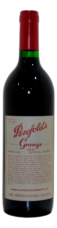 Penfolds Bin 95 Grange 1999 (1x 750mL), SA