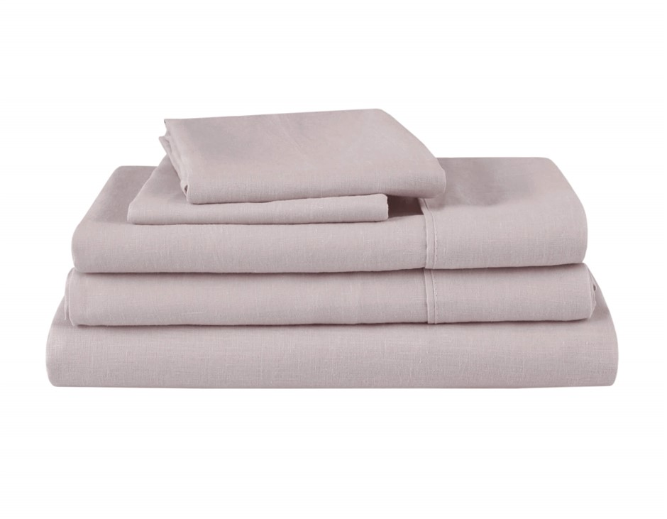Natural Home Linen Sheet Set King Bed LINEN
