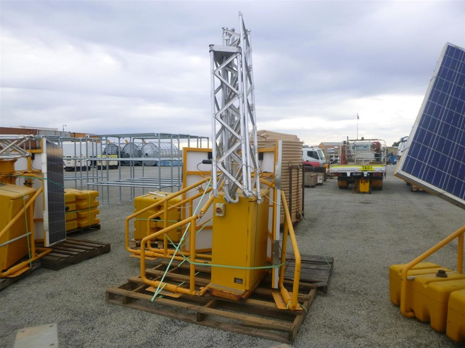 2014 Focalenergy V2.4 3 Panel Portable Tower