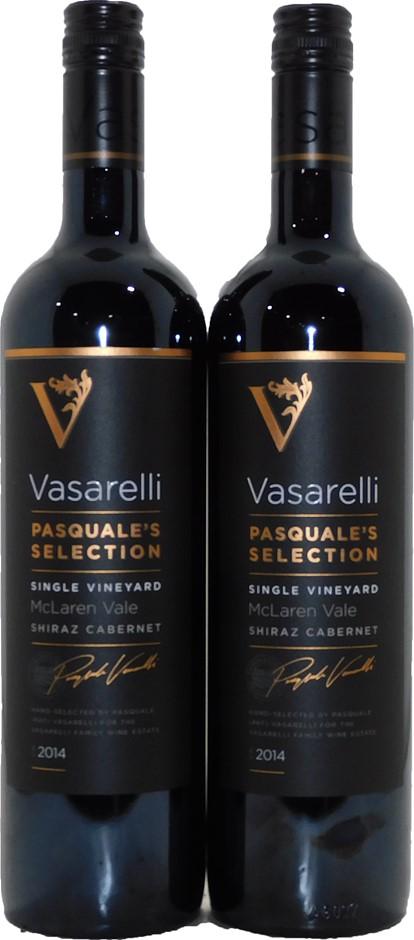 Vasarelli Pasquale's Selection Shiraz Cabernet 2014 (2x 750mL), SA