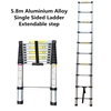 5.8m Aluminium Alloy Single Sided Ladder Extendable step  (Pooraka, SA)