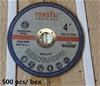 Qty 500 x Yongtai 105mm Cutting Discs (Pooraka, SA)