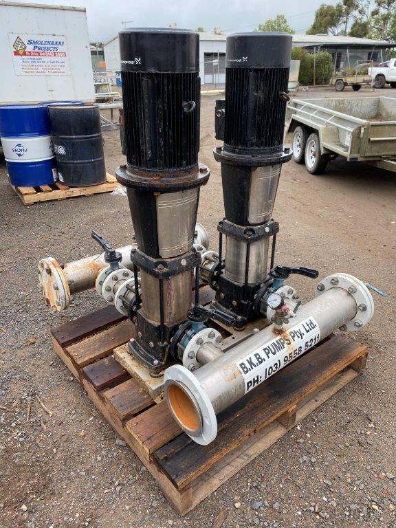 BKB Pumps Complete Pumping Unit