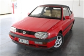 Unreserved 1995 Volkswagen Golf GL Automatic Convertible