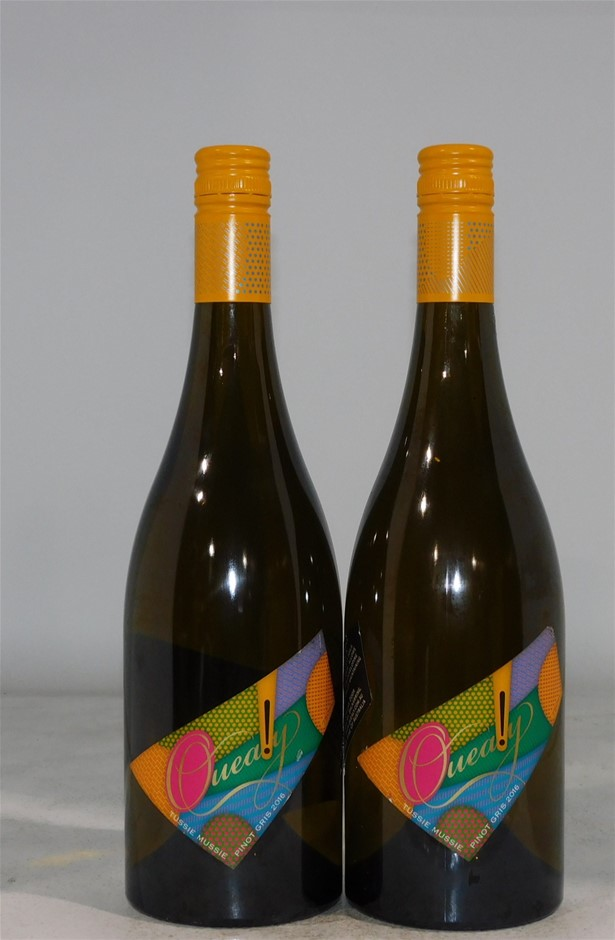 Quealy Tussie Mussie Pinot Gris 2016 (2x 750mL), Mornington Peninsula