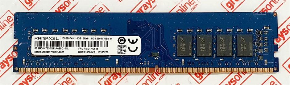 RAMAXEL16GB PC4-2400T DDR4 288pin Desktop Memory Module
