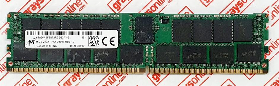 Micron 16GB PC4-2400T Sodimm DDR4 288pin Desktop Memory Module