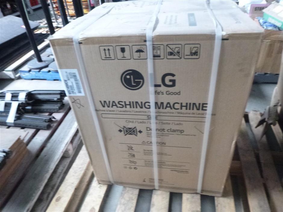 1 x LG WDC1409HCW 9kg Front Loader Washing Machine