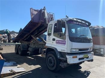 1997 Isuzu FVZ1400A 6x4 Hook Bin Truck