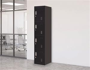 4-Door Vertical Locker for Office Gym Sh