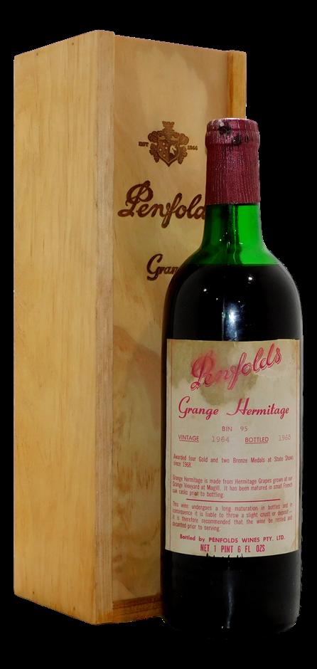 Penfolds Bin 95 Grange 1964 (1x 750mL)