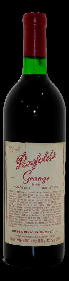 Penfolds Bin 95 Grange 1990 (1x 750mL)
