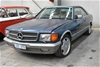 1984 Mercedes Benz 380SEC Automatic Coupe