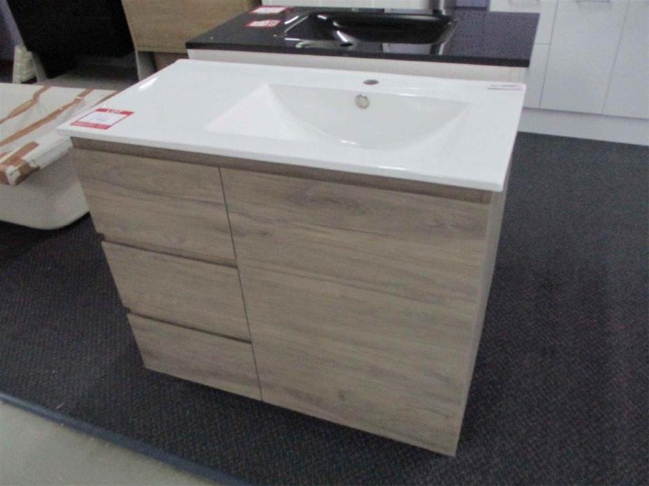 Glacier 900 Vanity Cabinet with Basin
