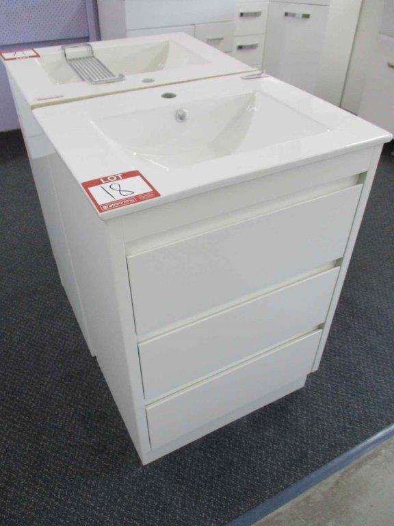Arto Alpine 600 Vanity Cabinet with Basin