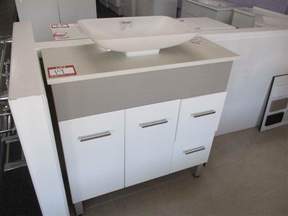 Galway 900 Vanity Cabinet with Basin