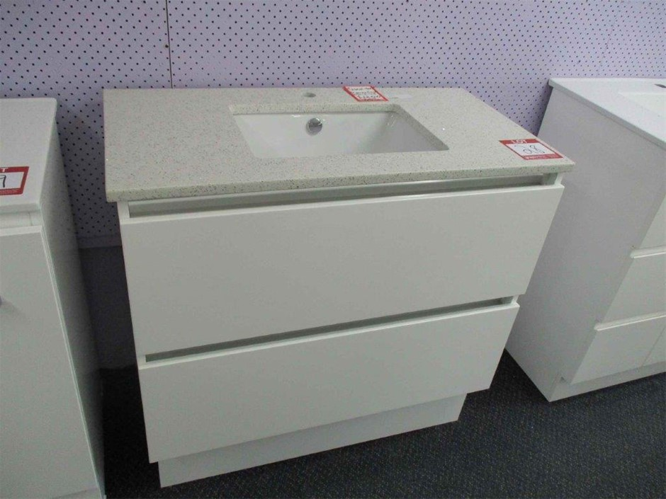 Fienza Quest 900 Vanity Cabinet with Basin