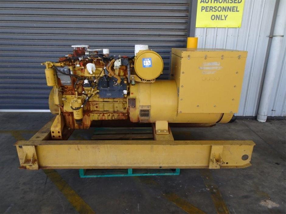 2008 CAT SR-4 181KVA Industrial Generator (Pooraka, SA)