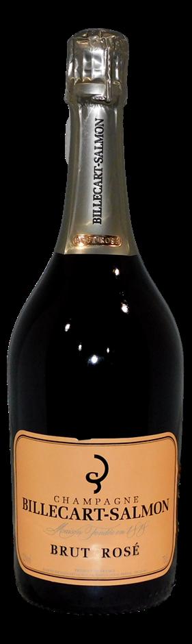 Billecart-Salmon Champagne Brut Rose NV (1x 750mL), France. Cork
