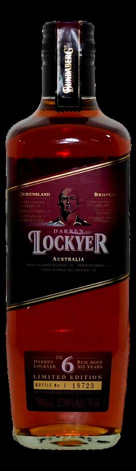 Bundaberg Ltd. Ed. Darren Lockyer Rum NV (1x 700mL, Bottle # 18723), QLD
