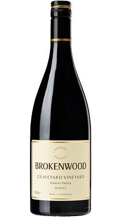 Brokenwood Graveyard Vineyard Shiraz 2017 (3x 750mL).