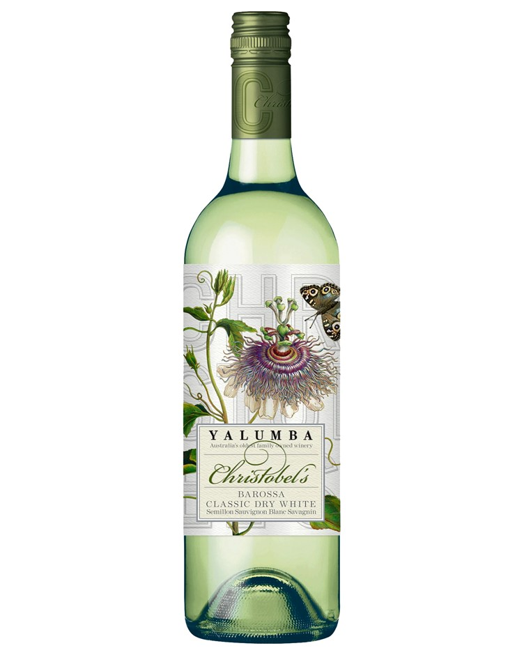 Yalumba Christobel's Classic Dry White 2018 (6x 750mL).