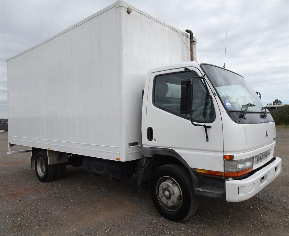 2003 Mitsubishi Canter 500/600 4x2 Pantech Truck (Pooraka, SA)