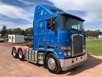 2011 Kenworth Prime Mover Truck