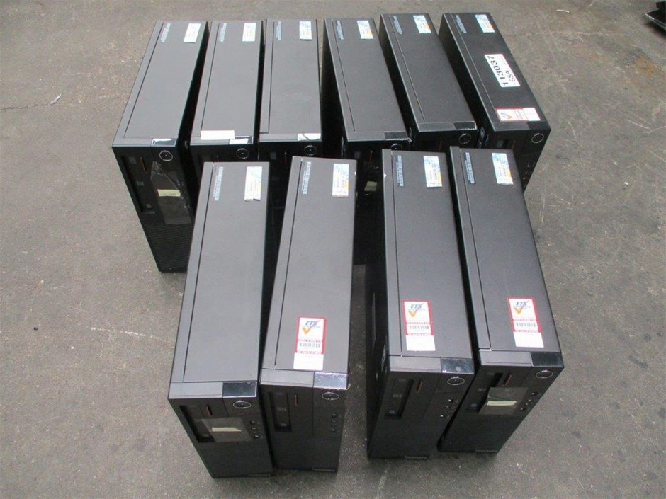 Qty 10 x Lenovo M93P ThinkCentre Desktops