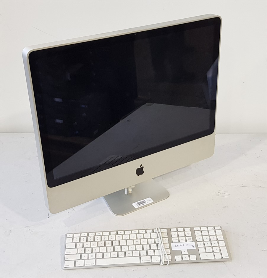 Apple iMac Model- A1225 Emc- 2267 24 Inch All In One Desktop Pc