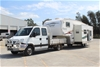 2008 Iveco Daily Auto and 2007 Flagstaff Super Lite 5th Wheeler Motorhome