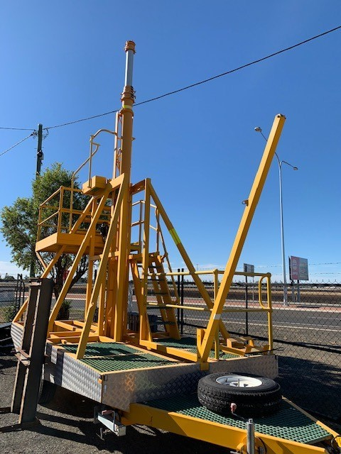 2013 MPC Engineering Clark Masts Mobile Communication Tower/Trailer