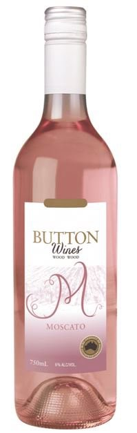 Button Wines Pink Moscato 2016 (12 X 375mL) VIC