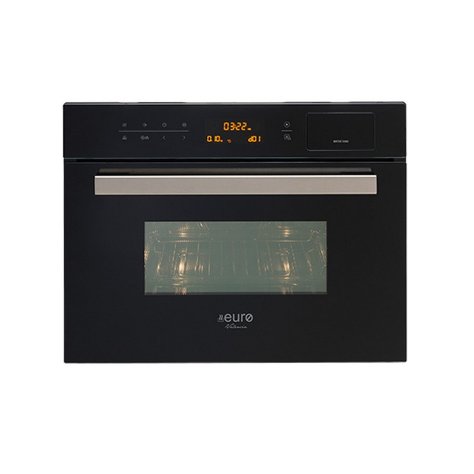 Euro 45cm Combi Microwave and Steam Oven, Model: EV45SMWB