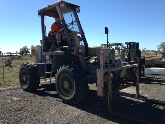 1990 Pacific ATF 250 All Terrain Forklift